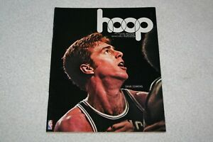 1974 Philadelphia 76ers PROGRAM vs Boston Celtics 12/18/74 * Dave Cowens cover