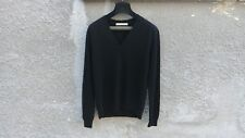 Givenchy Destroyed Distressed Wool Slim Fit Rottweiler Knit Sweater size L (M)