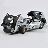 Shelby 1:18 1966 Ford GT-40 MK II #7 Le Mans Racing Car Diecast Model Collection