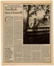 Tom Rush Interview/article 1980 RS-WERT