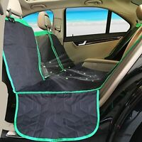 Dog Car Seat Hammock Waterproof Cover Protector Include Pet Puppy Cat Safety Buc