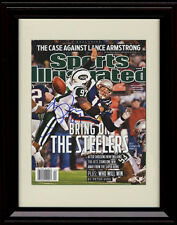 Framed Calvin Pace Sports Illustrated Autograph Print New York Jets