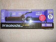 "Hot Tools Professional Hair Curling Iron 1-1/2"" 1102 Spring Gold Styling Beauty"