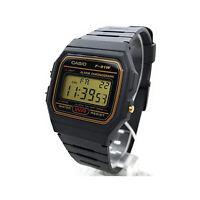 Casio F91WG-9QEF unisex casual digital watch with black resin strap