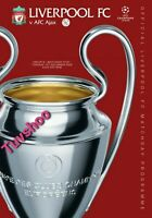 Liverpool v Ajax CHAMPIONS LEAGUE 1/12/20 Official A4 Programme! RECORED POST!!!