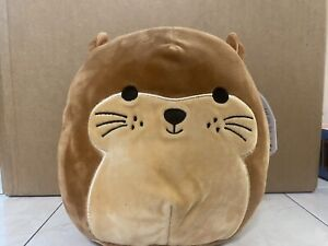 """NWT Joanne Otter 8"""" inch Squishmallow Plush Stuffed Animal Collectors Toy"""
