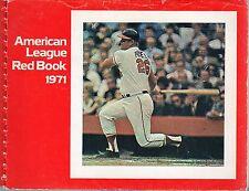 1971 American League Baseball Red Book, Boog Powell, Baltimore Orioles ~ Fair