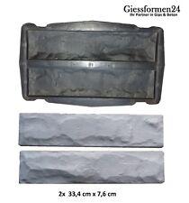 Eine Beton /Gips Giessform Wandverkleidung, Verblender Riemchen Schiefer Klinker