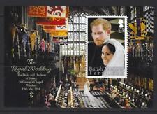BRITISH ANTARCTIC TERRITORY 2018 HARRY AND MEGAN ROYAL WEDDING  UNMOUNTED MINT