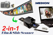 Professional 35mm Negative Film Silde Viewer USB Scanner Color Photo Copier