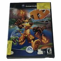 Ty the Tasmanian Tiger (Nintendo GameCube, 2002) Complete w/Manual Works Tested