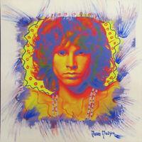 "MARIA MURGIA ""Jim Morrison"" CM 28X28 pezzo unico dipinto su cartoncino + PASS"
