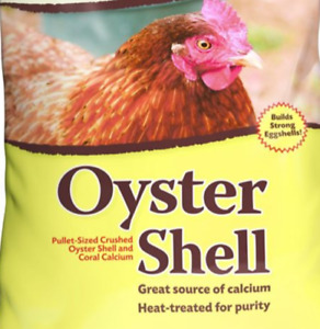 Crushed Oyster Shell Calcium for Chickens Ducks Crabs * Heat Treated for Purity