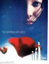 PUBLICITE ADVERTISING 056  2004   Flower by  Kenzo  parfum femme