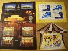 Rumänische unbenutzt Briefmarken - 3 Blöcke