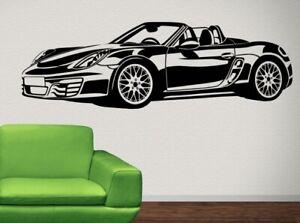 Wandtattoo Porsche Gunstig Kaufen Ebay