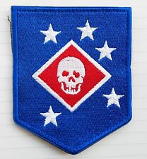 Marine Raiders Infrared Hook Patch Special Operations-MARSOC,USMC,SOF BADGE BLUE