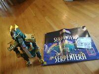 Bandai Mighty Morphin Power Rangers Serpentera Lord Zedd Power Zord.