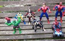 Marvel Figures Spider Man X-Men Incredible Hulk & Spider Man Buggy