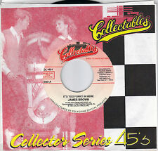 JAMES BROWN  It's Too Funky In Here / I Got A Bag Of My Own 45