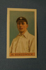 1912 Reeves Chocolates Cricket Prints by County Print 1993 - H. Strudwick.