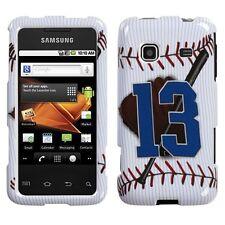 Baseball HARD Shell Case Protector Snap on Phone Cover Samsung Galaxy Precedent