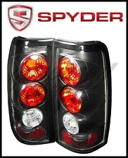 Spyder Chevy Silverado 1500 03-06(Doesn't Fit Stepside)Euro Style Tail Lights Bl