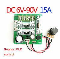 6V-90V DC 10A Pulse Width PWM Motor Speed Regulator Controller Switch UK seller