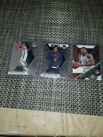 2019 20 Mosaic Basketball Giannis antetokounmpo MVP 3 Card Lot
