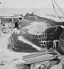Fort Sumter Interior View Gabions Charleston SC 1865 New 8x10 US Civil War Photo