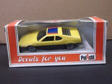 Polistil 1:40 Decals For You E2005 BMW M1 Pro-Car In Yellow