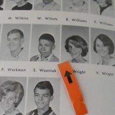 1966 HOMESTEAD HIGH SCHOOL YEARBOOK/STEVE WOZNIAK SOPHOMORE PICTURE/JOBS FRIEND
