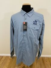 New Mens Under Armour Flying Fish Brewery Long Sleeve Shirt Button Down Size 2Xl