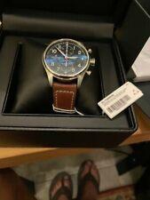 Alpina Mens Startimer Pilot Automatic Chronograph - Blue Dial