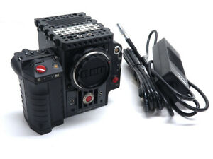 Red Scarlet-X 4K cinema camera Scarlet Mysterium X w/ Canon EF mount side handle