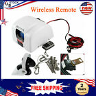 12v Electric Anchor Winch With Wireless Remote Marine Yacht Boat Saltwater 45lbs