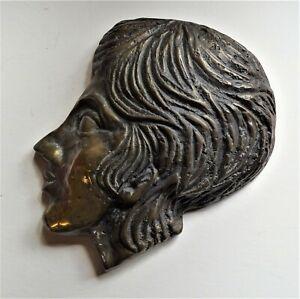 manner of Benno Schotz (1891 – 1984) Cast bronze profile sculpture