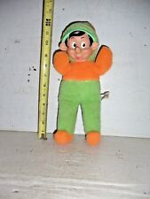 "OLD VINTAGE 1950s GUND RUBBER FACE PINOCCHIO WALT DISNEY PLUSH DOLL 13"" H"