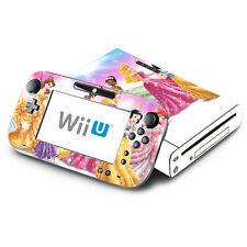 Skin Decal Cover for Nintendo Wii U Console & GamePad - Princess Friends 1