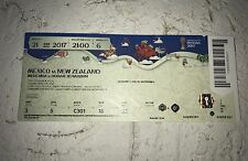 Sammler Used MINT Ticket #6 Mexico New Zealand Mexiko Neuseeland Confed Cup 2017