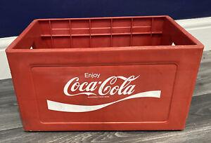 Vintage Coca Cola Bottle Plastic Crate