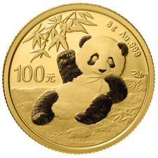 China - 100 Yuan 2020 - Panda - Anlagemünze - 8 gr Gold ST