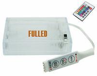Batterie Box für 5V RGB LED-Streifen - IR Fernbedienung - 3x AA Batterie 4,5V