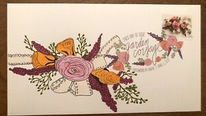 Garden Corsage 2020 FDC First Day Cover Hand Drawn Cachet Two Ounce DCP
