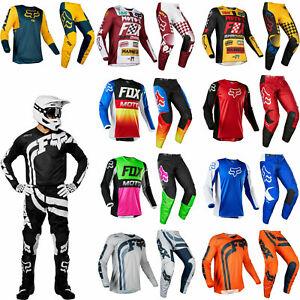 FOX RACING 180 MOTOCROSS KIT PANTS JERSEY mtb mx bike cota czar przm fyce prix