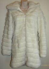 Womens BB Dakota Coat size M Faux Fur Reversible Coat