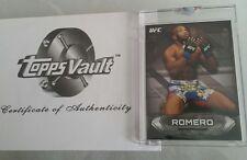 YOEL ROMERO #1/1 Blank Back  Proof 2014 Topps UFC Knockout  MMA Rare