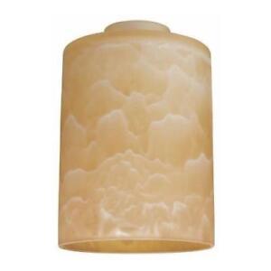 "Westinghouse 8140400 2-1/4"" Marble Cylinder Lamp Shade"