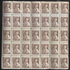 RUSSIA WWII Russian Mini Stamps Page Sciene/Medicine