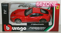 Burago 1/43 Scale Diecast Model  Ferrari F12 Berlinetta - Red 18-36000